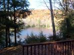 Lakefront Berkshires Ski/Summer House, Great Views