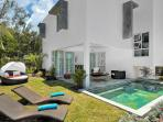 3 bedroom villa with private beach Mauritus