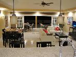 3BR villa w/pool in 24hr guard-gated upscale comm.
