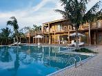 Luxury 11 bedroom Parrot Cay villa. Total privacy!