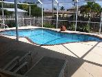 Fun in the Sun in Beautiful Cape Coral Pool Home
