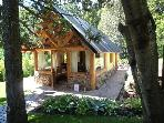 Private Cabin with Peaceful Park On Circuito Chico