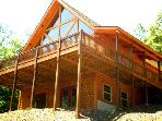 UNIQUE LOG CABIN-BEAUTIFUL MTN VIEWS -  $89 A NIGHT (WEEKLY BOOKINGS)