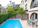 Amazing 2 bdr in front of Mamilla - private pool!