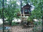 Tree House Vacations in the Shawnee Forest!