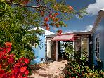 Calypso Blu at Frenchmans Bay Estates, South Side, St. Thomas - Ocean View, Overlooking Beach, Close To Shopping And Restaurants