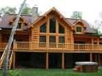 3-6 bedroom waterfront chalets in Mont Tremblant