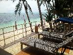 Absolute beachfront 2+1BR house in Boracay Island!
