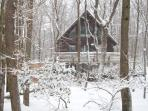 The Best Spot in the Poconos, COzy Mountain Chalet