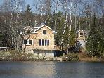 Copper Harbor, Cottage on Lake Medora Waters Edge