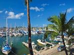Ilikai Marina #388 - Convenient 1-bedroom with AC and WiFi & views of yacht harbor! Sleeps 4.