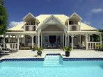 Beautiful villa located on the French side