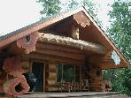 Luxury Log Cabin, Private Hot Tub, Secluded Beach