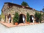 Podere Sionne - Tuscan Private Villa Rental for 9 or 12 ppl