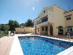Luxury villa with heated pool, hot tub &amp; sea views