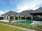 Bali Villa Nujum luxury beachfront villa+staff 3BR