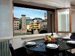 Exclusive apartment overlooking Ponte Vecchio