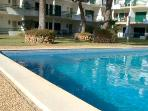 T1+1 Vilamoura Apt  w/ direct Pool & Garden access