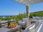 Luxury Beach Villa with fantastic sea views