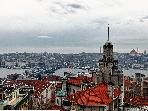 Historical Flat in Galata with Bosphorus view