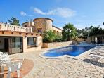 Nirwana-12 p private pool villa on the Costa Brava