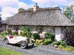 Scottish Borders Thatched Holiday Cottage
