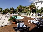 Captiva Beach Sunset-New Gulf Front 5 BR w/ Pool