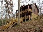 ALPINE LODGE*BEAUTIFUL 3BR/3BA PRIVATE CABIN ON CREEK~WIFI~HOT TUB~POOL TABLE~AIR HOCKEY~GAS GRILL~FIRE PIT~AND GAS LOG FIREPLACE~ONLY $135/NIGHT!