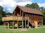 Shenandoah River Log Cabin, Luray, Virginia