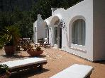 Capri - Villa with a nice sea view on Faraglioni