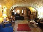 15th century home in wine village, sleeps 9