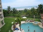 Upscale Brand New Beachfront condo 3 B/R