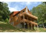 Appalachian Retreat:Boone area Luxury Log Cabin