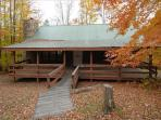 Lovely mountain home offers field, stream and AFFORDABLE lodging.