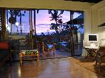 Vacation rental NAHEMA on pristine sunny Molokai.