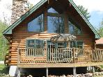 Modern Log Home on Private Lake ATV/Hiking Trails