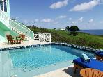 Luxury 3 bedroom St. Croix, USVI villa. Great for extended family or total privacy for 2 couples!