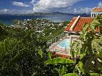Luxury 2 bedroom St. John villa. Great for 2 couples!