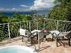Luxury 2 bedroom St. John villa.