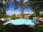 Luxury 3 bedroom Cap Estate villa. Caribbean Luxury...Tropical Plantation Style!