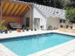 Santa Monica Luxurious 1 Bedroom Guest House PRIVATE Pool & ON THE OCEAN  (2876)