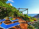 Villa in Minori - Amalfi Coast Balcony and Garden