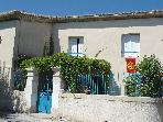 MAISON DE VILLAGE AVEC COUR 5 PER  DANS GARD JUNAS