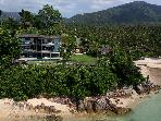 the View Samui, 6 bed beachfront villa in Thailand
