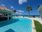 PETITE PLAGE V... Stunning New Ultra Deluxe Beachfront Estate on St Martin!