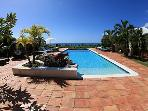 LA PERGOLA...Beautiful tropical retreat w/ 4 master suites Great Couples Villa...Fully Air Conditioned!