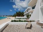 AQUALINA...Face the gorgeous Caribbean Sea along one of St. Maartens longetst beaches