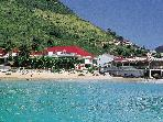 GRAND CASE BEACH CLUB...2 BR Ocean Front Suites in French, St Martin  walk to Grand Case Village...