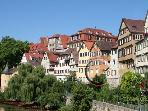 Vacation Apartment in Tübingen - 646 sqft, amazing location right on the Neckar river (# 1422) #1422