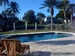 Updated 3 Bed Home w/Heated Pool on canal by beach